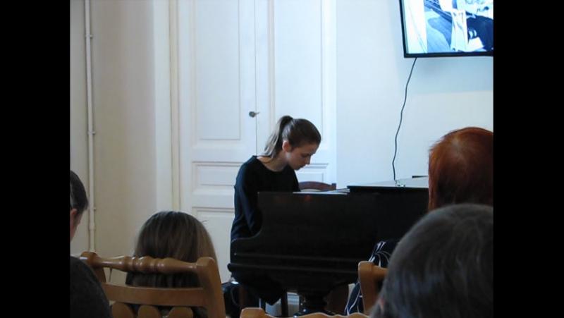 Хорошо темперированный клавир Прелюдия и фуга №5 Ре мажор Исполняет Берёзкина Маргарита