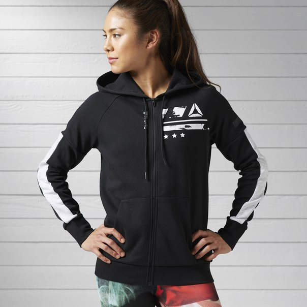 Худи Workout Ready Cotton Series Graphic Full Zip