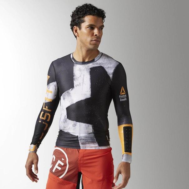 Компрессионная футболка с длинным рукавом Reebok CrossFit Engineered