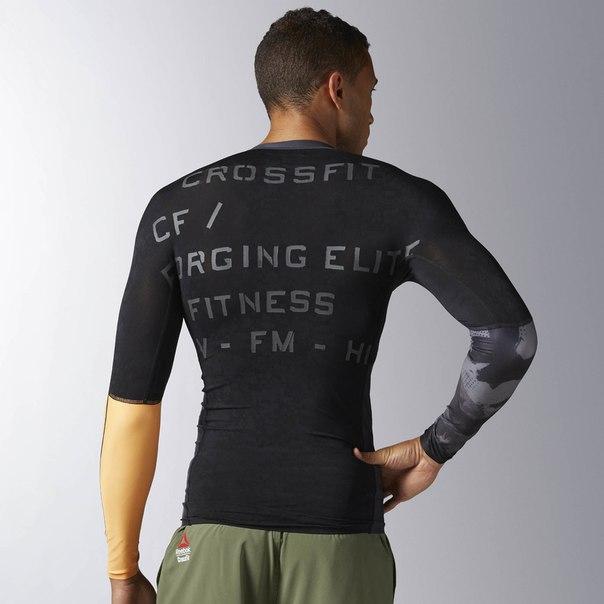 Компрессионная футболка с длинным рукавом Reebok CrossFit Long Sleeve