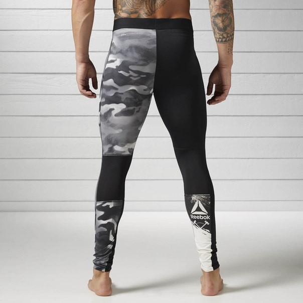Компрессионные брюки Spray Camo