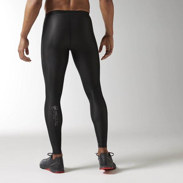 Компрессионные леггинсы Reebok CrossFit Printed