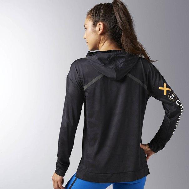 Худи Reebok CrossFit Jacquard