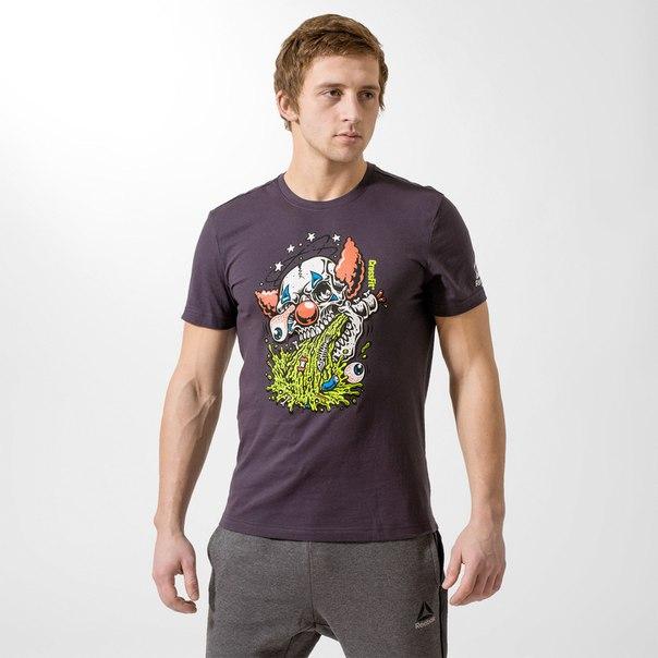 Спортивная футболка Reebok CrossFit Pukie