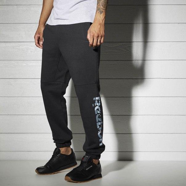 Флисовые спортивные брюки