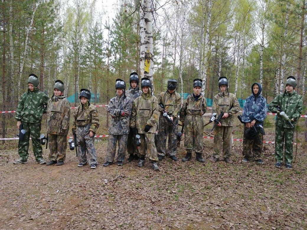 III Открытый чемпионат по пейнтболу Палехского муниципального района