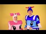 Робокар Поли и Эмбер на детский праздник