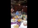 Айжан.Ресторан Нигара Алматы.8 март