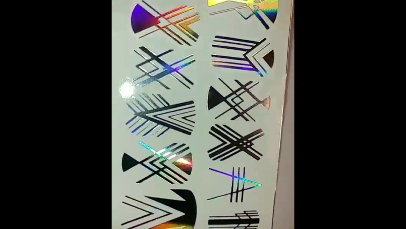 Фольгированные тонкие водные слайдер дизайны