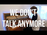 Charlie Puth &amp Selena Gomez - We Don't Talk Anymore (Piano cover) - Peter Buka