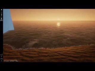 UE4 Ocean shader for Oroliga Game