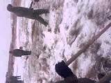 Косим траву под снегом, Армия РФ