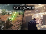 Star Wars Battlefront 2 - ALL 14 HEROES GAMEPLAY!  Yoda, Kylo Ren, Darth Vader, Rey, Luke and More!