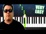 Smash Mouth - All Star - Piano Tutorial but it's TOO EASY (almost everybody can play it)