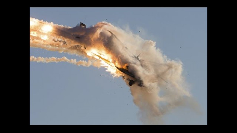 Syrian air defence system shot down Israeli Jet in Syria!
