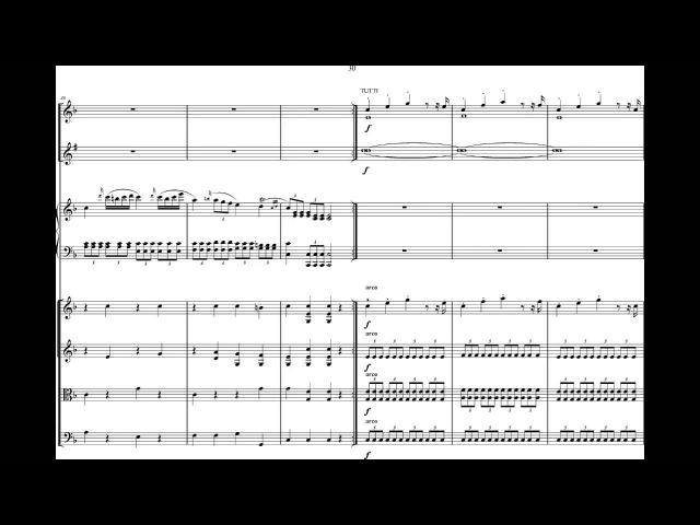 Mozart Piano Concerto No2 K39 Sheet Music