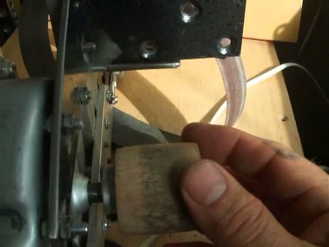 Мини гриндер . Мотор от стиралки .