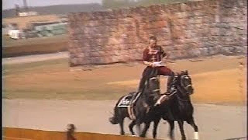Выступление лучшего в мире конного ансамбля Мухтарбека Кантемирова
