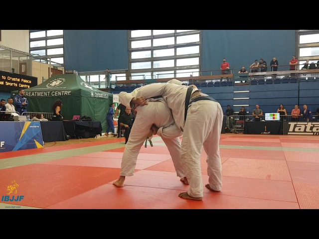 Alec Baulding vs Isaac Dull / London Fall Open 2017