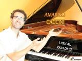 Amarilli, mia bella - G minor - KARAOKE  PIANO ACCOMPANIMENT - Caccini