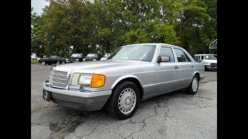 Short Takes: 1988 Mercedes-Benz 300SE (Start Up, Engine, Full Tour)