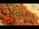 [ẨM THỰC Ý] làm sốt thịt băm mì Ý Sauce Bolognese hướng dẫn làm sốt thịt băm Ý болоньезе рецепт
