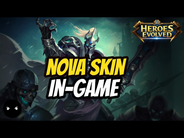 Cao Cao Nova Skin | SPOTLIGHT | - Heroes Evolved Mobile