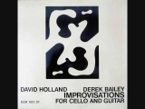 Derek Bailey &amp Dave Holland 'Improvisations For Cello And Guitar' (January 1971)