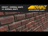 Trainz Dev Diary - Parallax vs Normal Mapped Objects