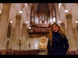 Loreto Aramendi plays Bach Sinfonia from Cantata No. 29  Saint Patrick's Cathedral NYC