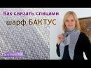 Как связать спицами Шарф БАКТУС Вязание на спицах 499