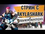Стрим по Overwatch / Первый взгляд на игру от AkylaShark