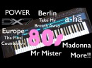 Yamaha DX7 80's Hits a ha Take On Me Mr Mister Broken Wings Europe Berlin Top Gun Madonna