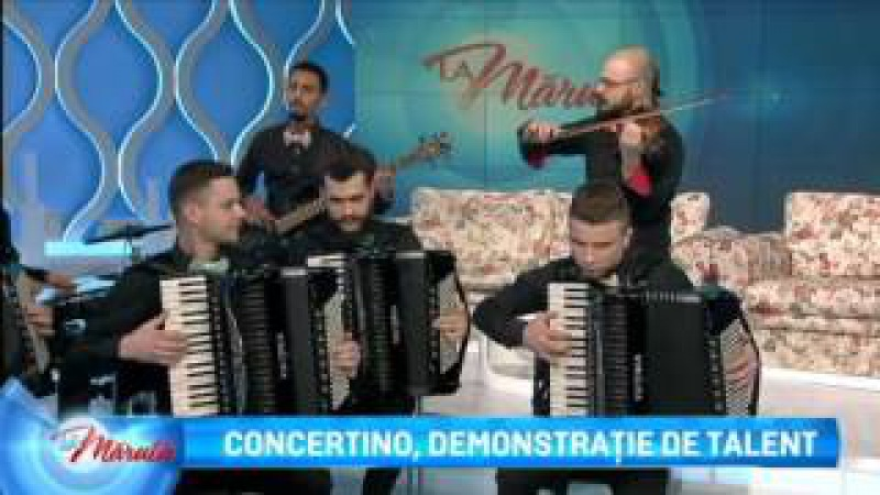 Concertino, demonstratie de talent