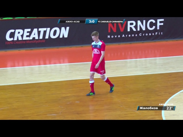 Кубок Любительской лиги АЖИО АСАБ FC Carduelis Cannabina 10 0 видеообзор