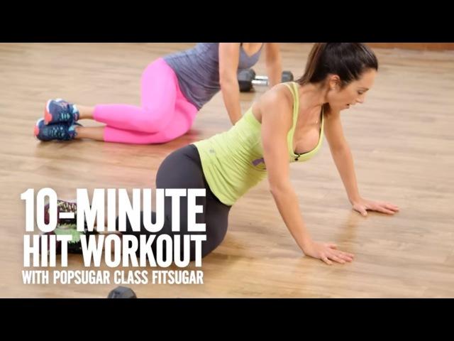 Autumn Calabrese - Dirty Dozen: 10 Minute Sneak Peek Workout   Отумн Калабрес - Силовая тренировка с гантелями