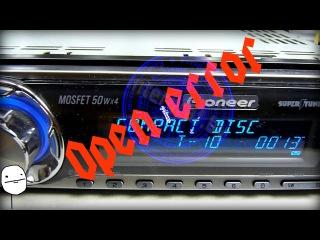 Магнитола Pioneer DEH-P5950IB не выбрасывает CD диск