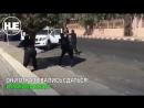 Перестрелка между грабителями и полицией в Саудовской Аравии попала на видео