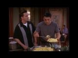 Friends 6х01 Растоенный Джо и еда
