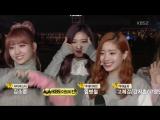 161111 Twice занимают первое место на Music Bank и получают свою седьмую награду с TT.