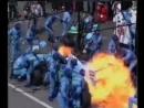 Пожар Benetton Йоса Ферстаппена на пит-стопе Гран-При Германия 1994