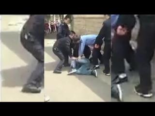 #sBad_Cops )Street kung fu fight in North Korea democratic vs communist cops 2016(Суровые копы КНДР)