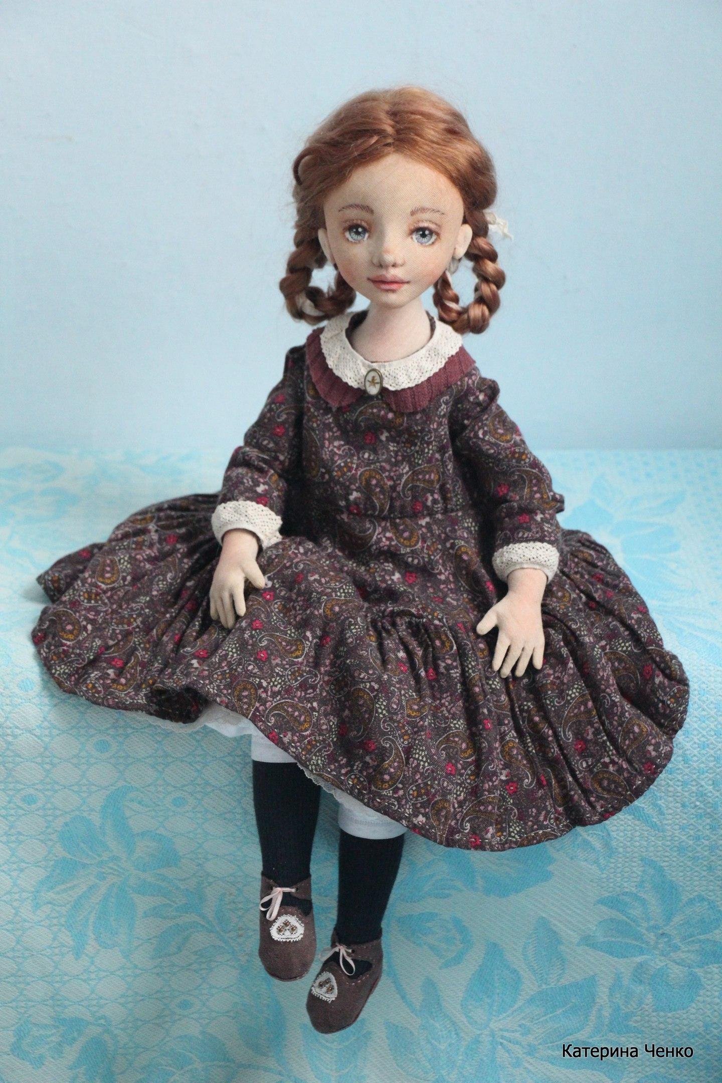 авторская кукла катерины ченко