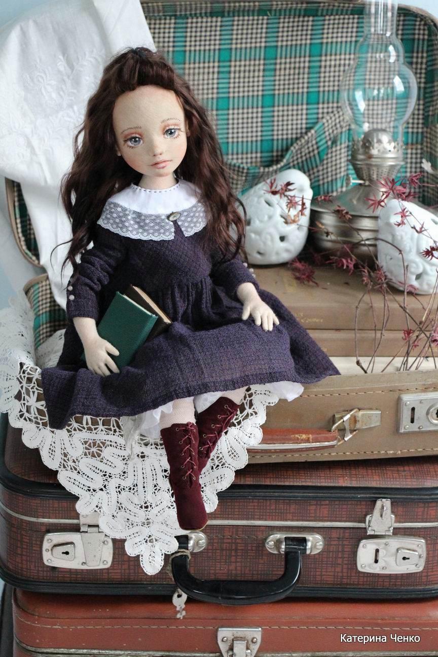 кукла из ткани авторская катерины ченко