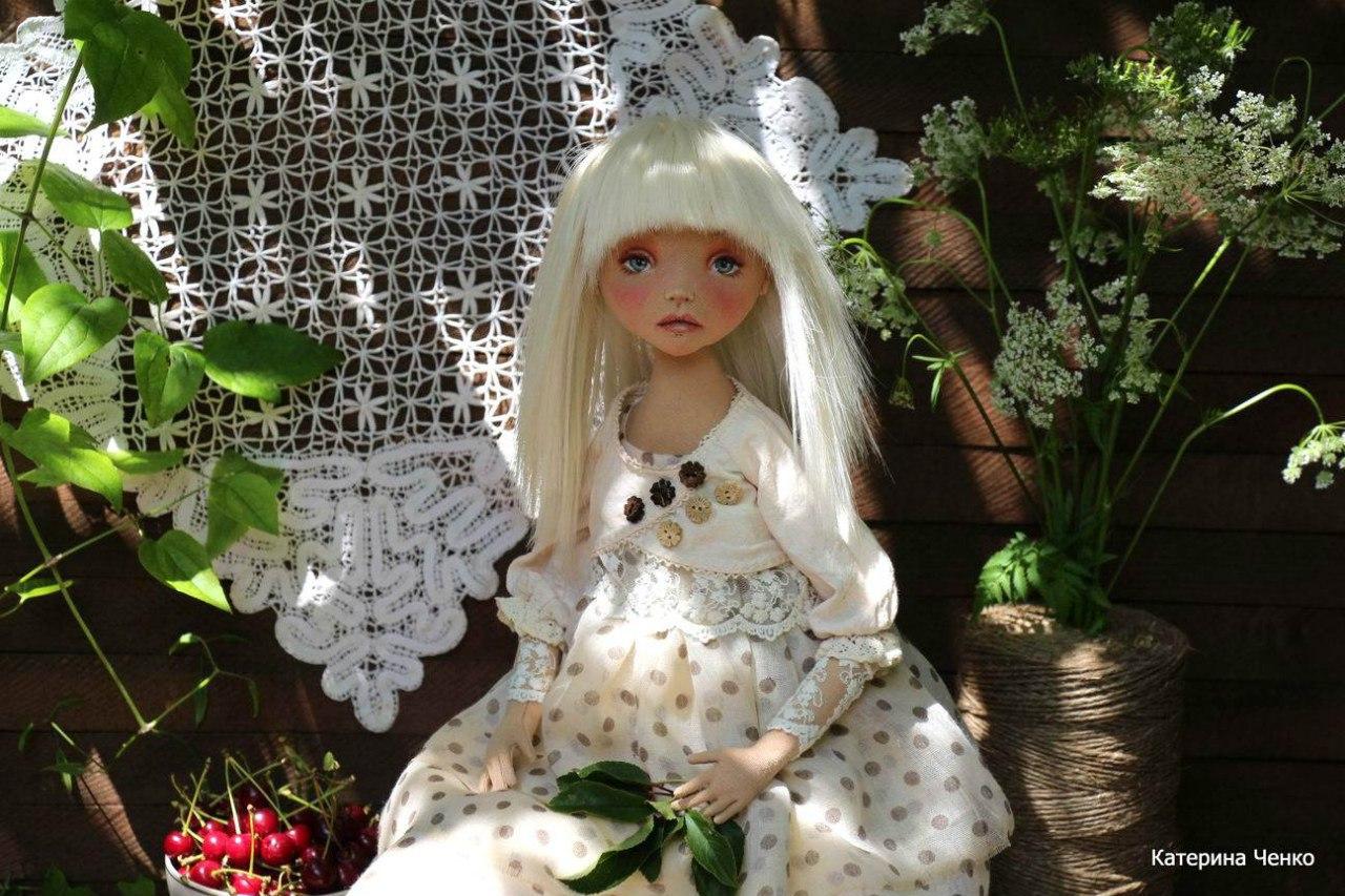 авторкая текстильная кукла
