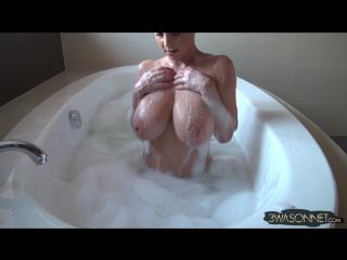 Ewa sonnet busty bubble bath ( milf milk wet pussy big tits busty suck blowjob brazzers kink porn anal мамка модель сосет )