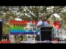 Nick Folkes First Speaker @ Straight Lives Matter Rally in Sydney 23092017