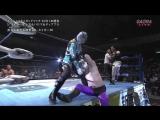 Black Tiger, Mitsuya Nagai, Takeshi Minamino, Tatsuhito Takaiwa vs. Diablo, Rey Paloma, Ryuji Hijikata, Super Tiger (AJPW - NE)