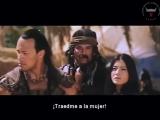 Видео со съемок фильма Царь скорпионов, 2002 г.