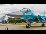 Russian Su-34 4 Strike Fighter